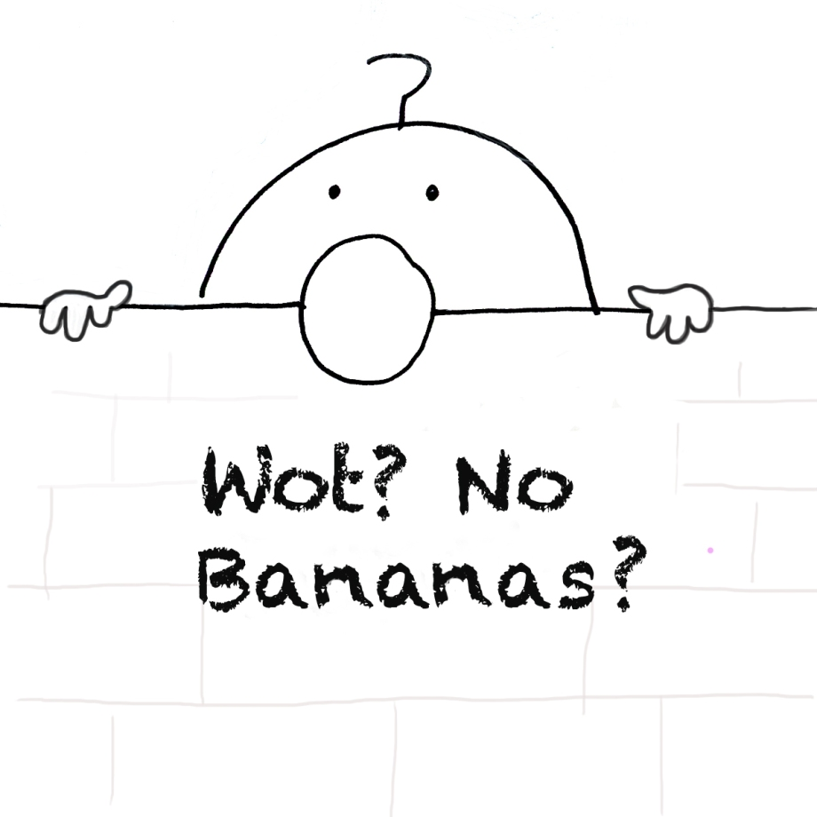 Chad No bananas