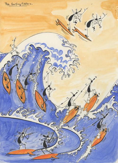 Original Surfing Fiddlers